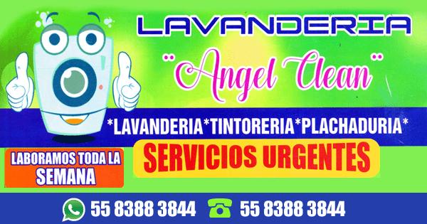 Lavandería y Planchaduría Ángel Clean