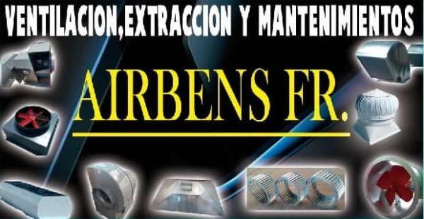 VENTILACION EXTRACCION Y MANTENIMIENTO AIRBENS FR.
