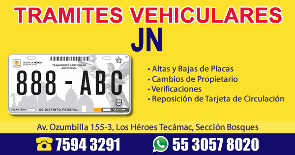Tramites Vehiculares JN