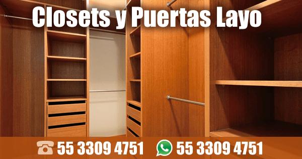 Closets y Puertas Layo