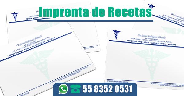 Imprenta de Recetas