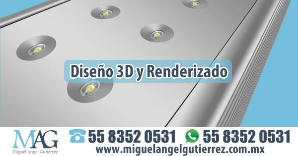 Diseño 3D y Renderizado