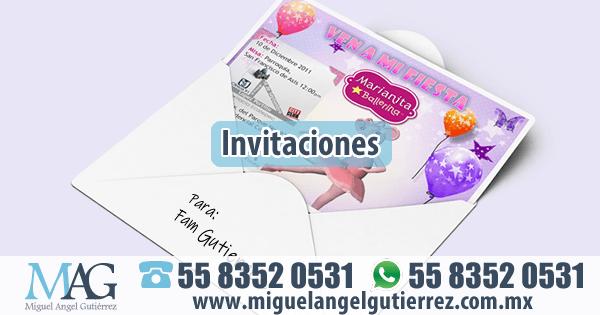 Invitaciones Diseño e Impresión