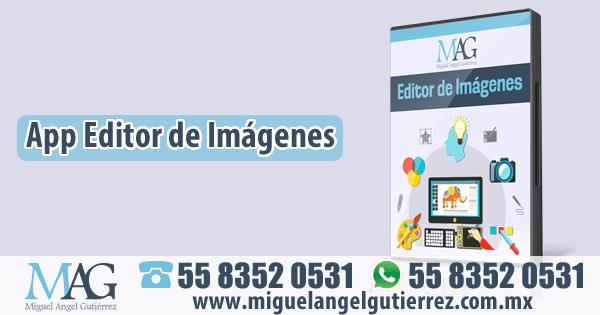 Aplicación para editar y crear imágenes