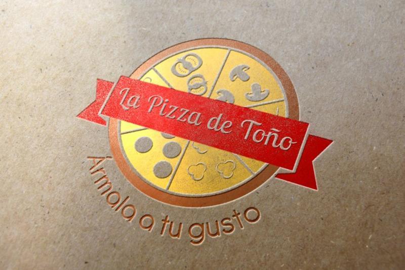 Diseño de Logo Pizza