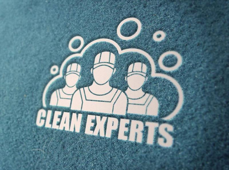 Diseño de Logo servicio de Limpieza