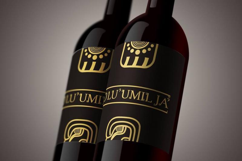 Diseño de Logo Vino