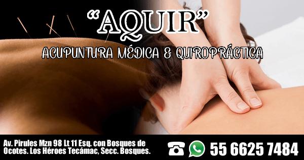 Acupuntura Médica & Quiropráctica AQUIR