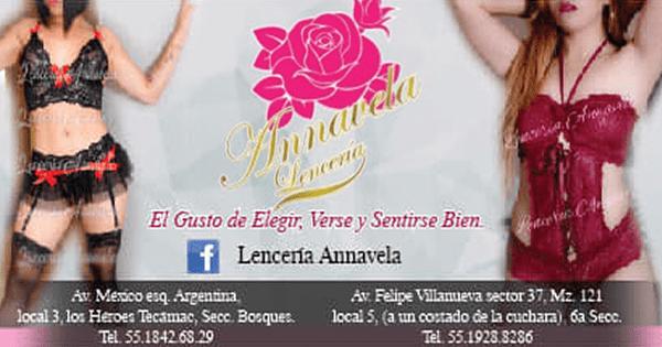 Annavela Lencería