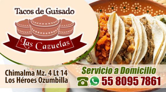Tacos de Guisado Las Cazuelas